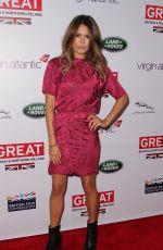 DANIELLE LINEKER at 2014 Great British Oscar Reception in Los Angeles