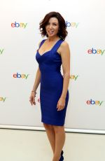 DANNII MINOGUE at Ebay Collections UK Launch Photocall in London