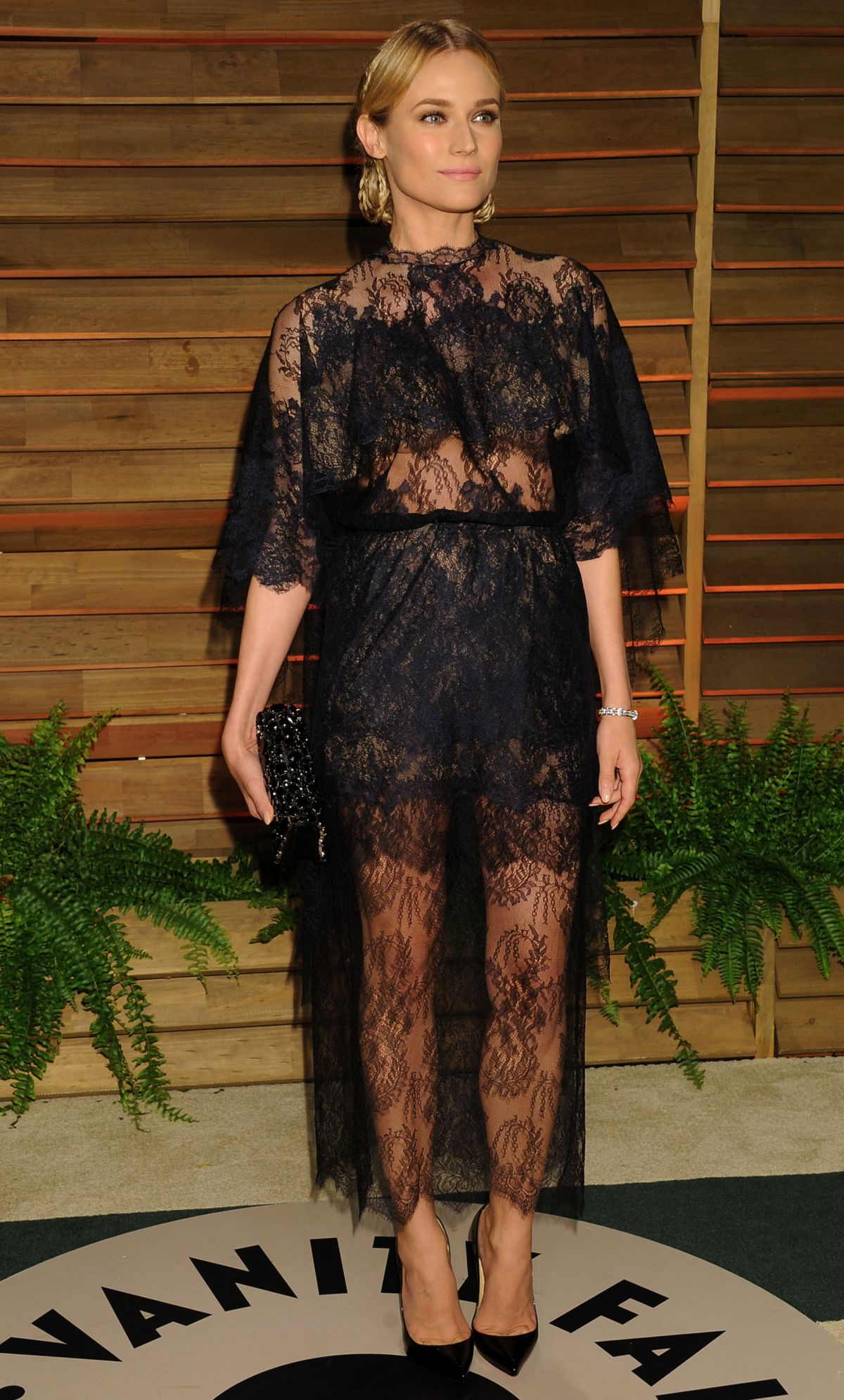 DIANE KRUGER at Vanity Fair Oscar Party in Hollywood