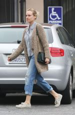 DIANE KRUGER Leaves a Grocery Store in Hollywood