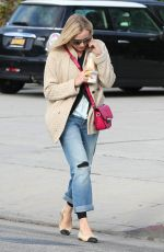 DIANE KRUGER Leaves Andy Lecompte Hair Salon in West Hollywood
