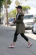 DIANNA AGRON Out in Los Angeles
