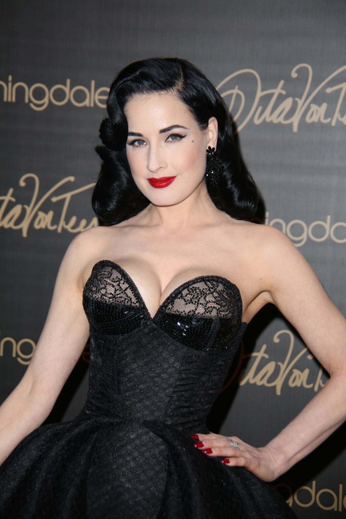 6e6d6a5c4cd DITA VON TEESE Launch Her Lingerie Line in New York - HawtCelebs