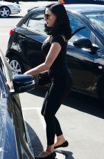 DITA VON TEESE Leaves Yoga Class in Los Angeles