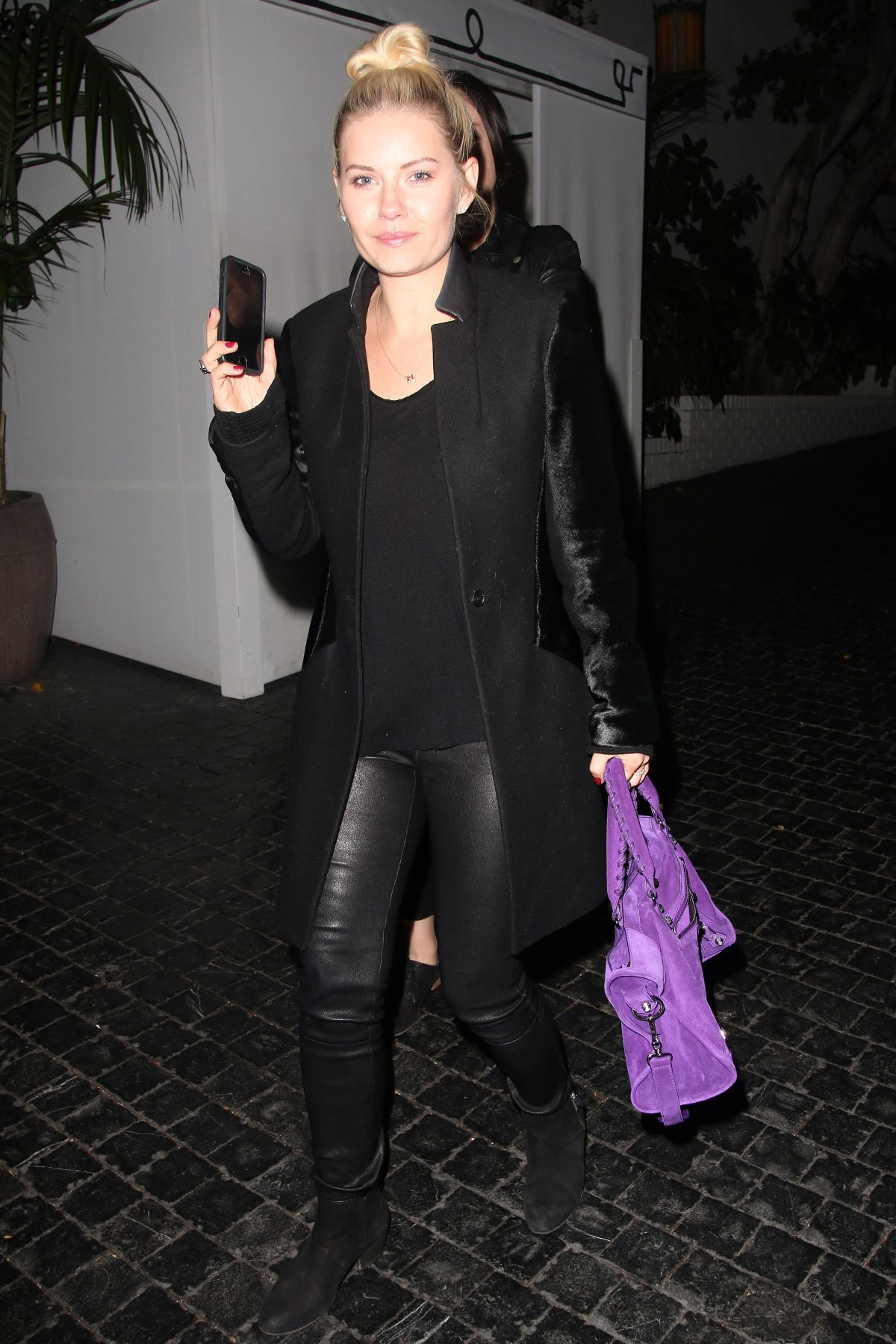 ELISHA CUTHBERT Leaves Chateau Marmont in Los Angeles