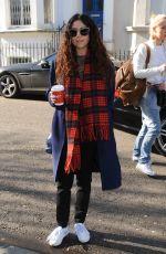 ELIZA DOOLITTLE Filming for a Sport Relief Sketch in London