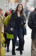 ELIZABETH GILLIES Out and About in New York