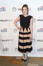 ELIZABETH HENSTRIDGE at Paleyfest 2014 Honoring Agents of S.H.I.E.L.D. in Hollywood
