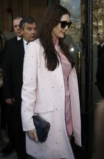 ELIZABETH OLSEN at Miu Miu Fashion Show in Paris