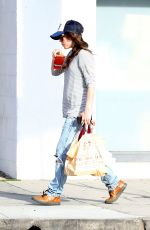 ELLEN PAGE Out and About in West Hollywood
