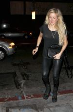 ELLIE GOULDING Arrives at the Golden Gopher in Los Angeles