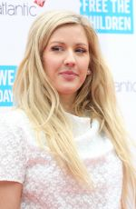 ELLIE GOULDING at WE Day UK Charity Event in London