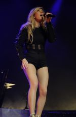 ELLIE GOULDING Performs at the Echo Arena in Liverpool