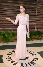 ELLIE KEMPER at Vanity Fair Oscar Party in Hollywood