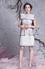 EMILIA CLAKE in Flare Magazine, April 2014 Issue