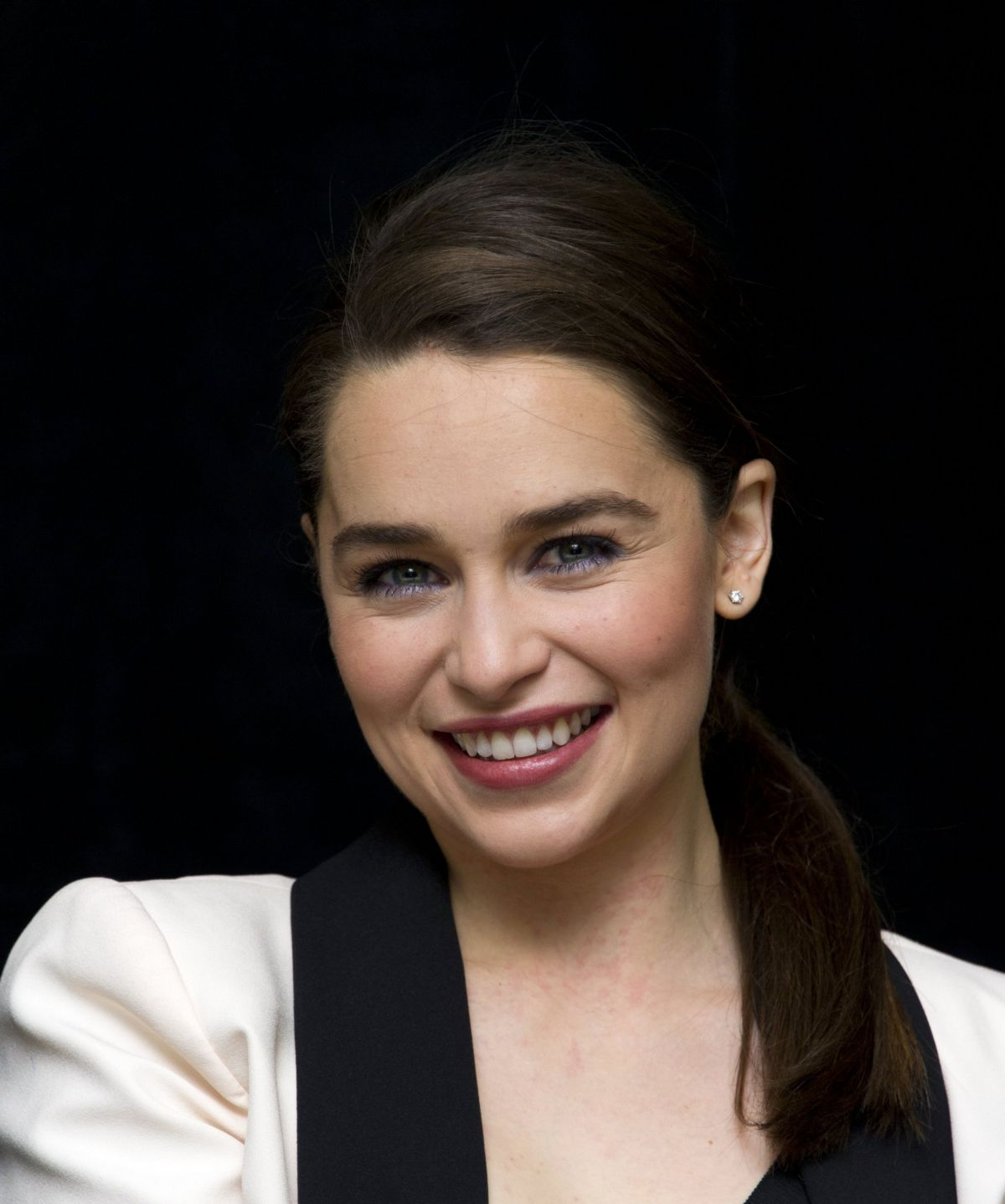 EMILIA CLARKE at Game of Thrones Season 4 Press Conference