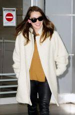 EMILIA CLARKE at JFK Airport in New York