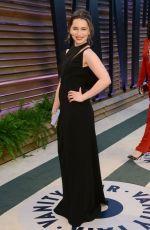 EMILIA CLARKE at Vanity Fair Oscar Party in Hollywood