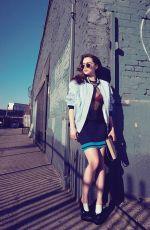 EMILIA CLARKE in Instyle Magazine, April 2014 Issue