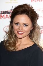 EMILY ATACK at Almost Married Screening in London