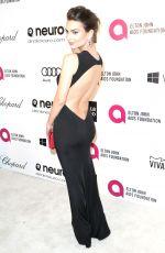 EMILY RATAJKOWSKI at Elton John Aids Foundation Oscar Party in Los Angeles
