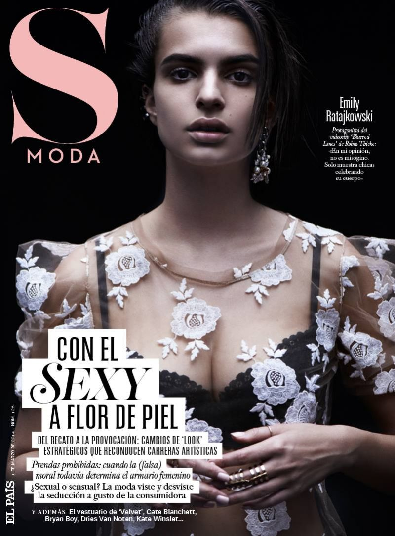 EMILY RATAJKOWSKI in S Moda Magazine, March 2014 Issue