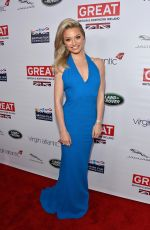 EMMA RIGHBY at 2014 Great British Oscar Reception in Los Angeles