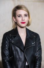 EMMA ROBERTS at Christian Dior Fashion Show in Paris