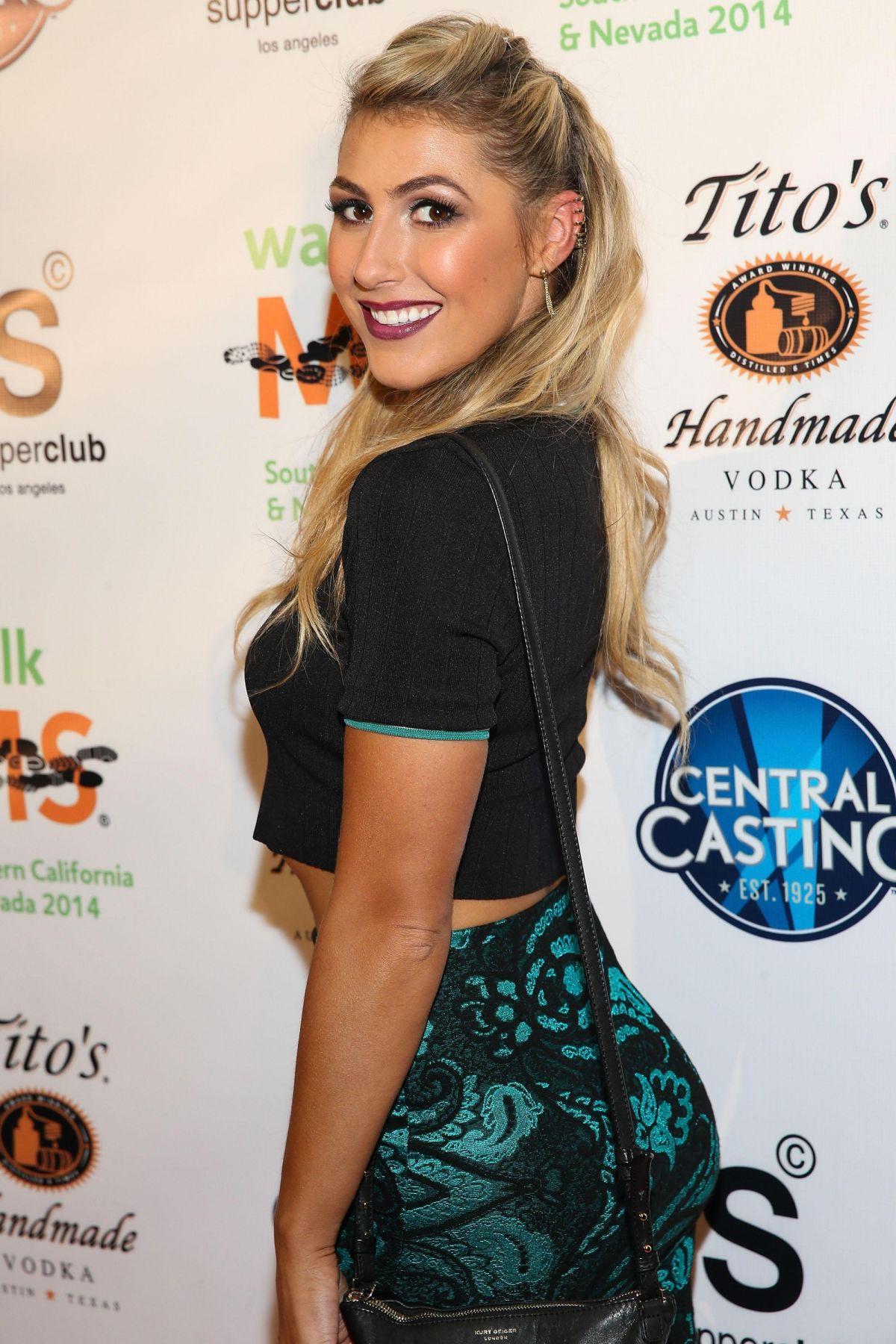 EMMA SLATER at LA Celebrity MS Walk Kick-off Event
