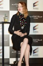 EMMA STONE at Amazing Spider-man 2 Press Conference in Tokyo