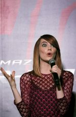 EMMA STONE at Amazing Spiderman 2 Fan Event in Singapore