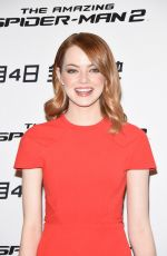 EMMA STONE at Amazing Spiderman 2 Photocall in Beijing
