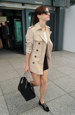 EMMA WATSON Arrives at Heathrow Airport in London