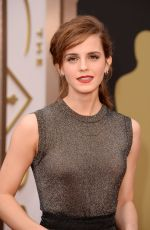EMMA WATSON at 86th Annual Academy Awards in Hollywood