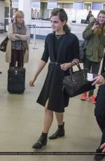 EMMA WATSON at Airport in Berlin