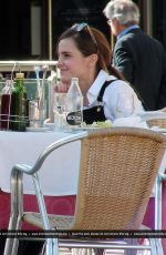 EMMA WATSON Out and About in Madrid