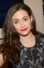 EMMY ROSSUM at CBS This Morning in New York