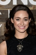 EMMY ROSSUM at H&M Conscious Collection Dinner in West Hollywood