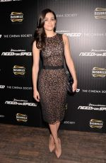 EMMY ROSSUM at Need for Speed Screening in New York