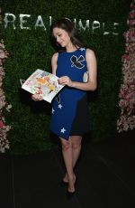 EMMY ROSSUM at Real Simple;s Botanical Beauty Coctail Party in New York