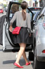 EMMY ROSSUM in Skirt Out Shopping in West Hollywood