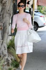 EMMY ROSSUM Leaves Nine Zero One Salon in West Hollywood