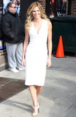 ERIN ANDREWS Arrives at Late Show With David Letterman in New York