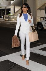 EVA LONGORIA Arrives at LAX Airport from Sydney