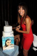EVA LONGORIA at Ocean Drive Magazine March Issue Cover Party in Miami