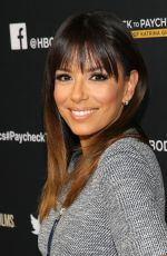 EVA LONGORIA  at Paycheck to Paycheck Premiere in Hollywood