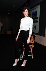 FELICITY JONES at Breath In Screening in New York