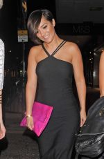 FRANKIE SANDFORD Leaves Chakana Nightclub in London