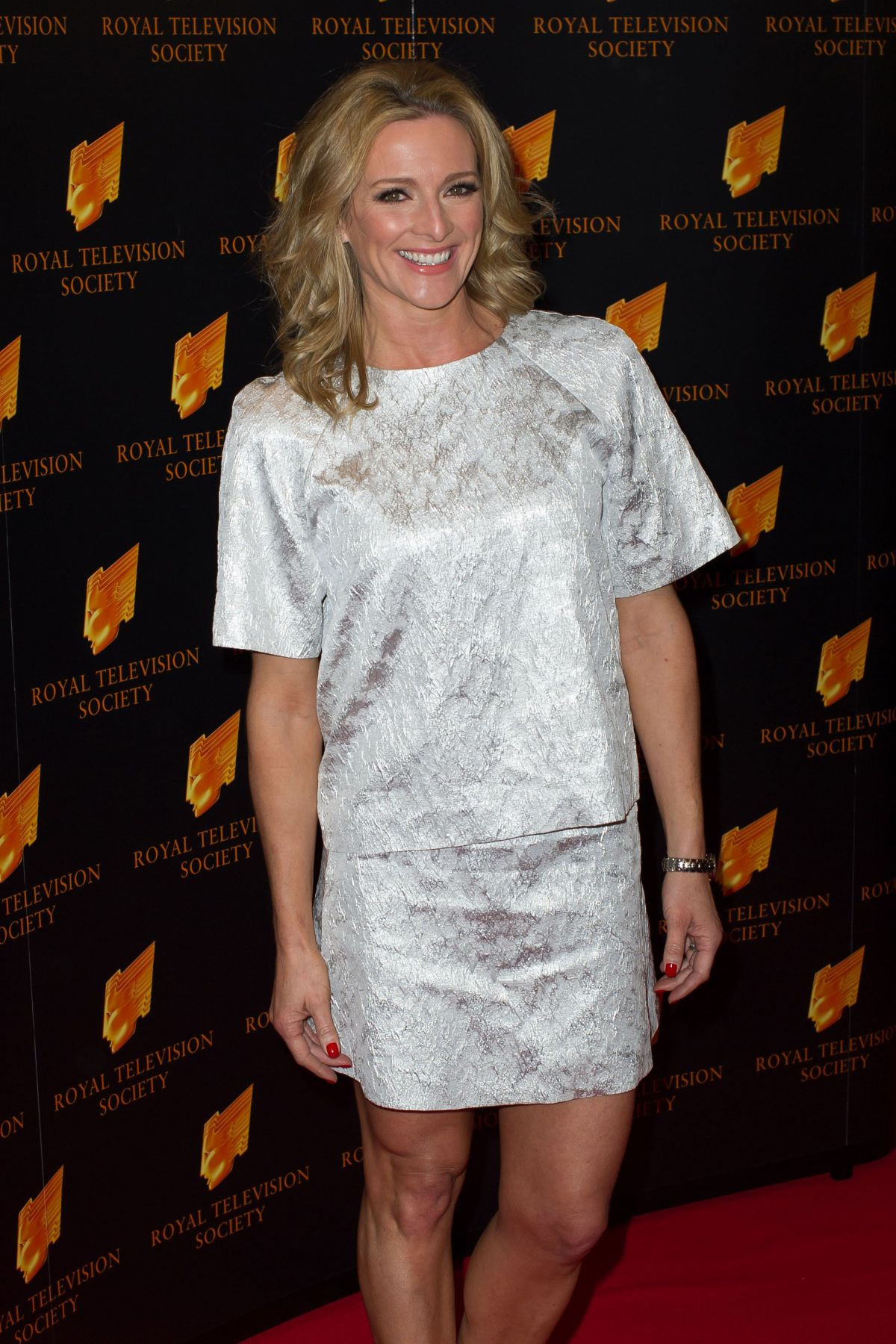 GABBY LOGAN at RTS Programme Awards in London