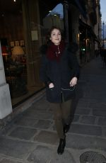 GEMMA ARTERTON Out and About in Paris